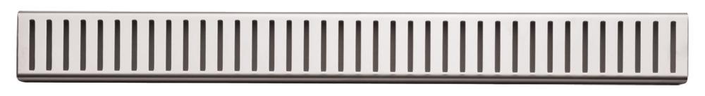 ALCAPLAST PURE Rošt pro liniový podlahový žlab 750mm, nerez mat PURE-750M