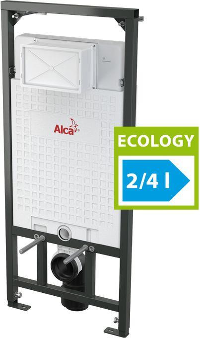 ALCAPLAST Předstěnový instalační systém pro suchou inst., Ecology A101/1200E
