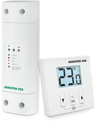 AURATON 200 RTH Bezdrátový termostat s nočním poklesem