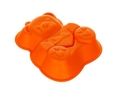 BANQUET Silikonová forma medvídek 14,2x12,3x3,5 cm CULINARIA orange 3122050O