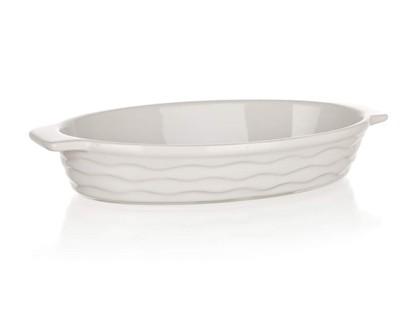 BANQUET Zapékací forma oválná 26x14cm Culinaria White 60ZF06
