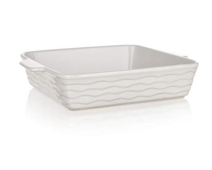 BANQUET Zapékací forma čtvercová 28,5x24cm Culinaria White 60ZF12