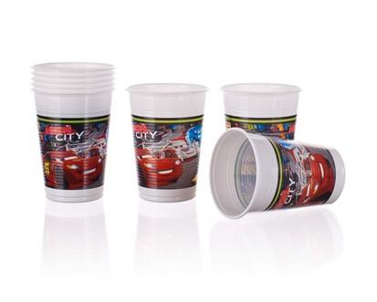 PROCOS Nápojový pohár 200 ml, 8KS Cars Neon 4482628