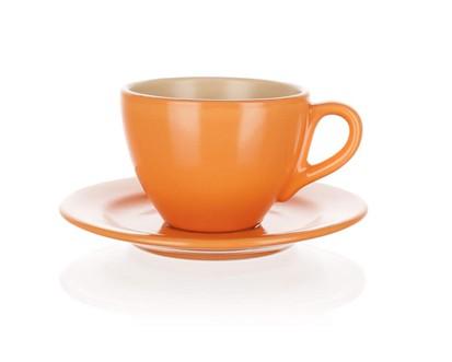 BANQUET Šapo šálek 200ml, oranžovo béžový mat Amande 20808M2892