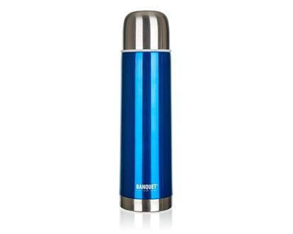 BANQUET Nerezová Termoska 0,50L Avanza Blue 48T05SB