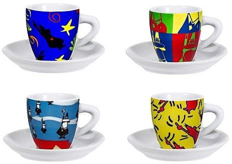 BIALETTI Set Pop Art, šálky 150ml 3010199315