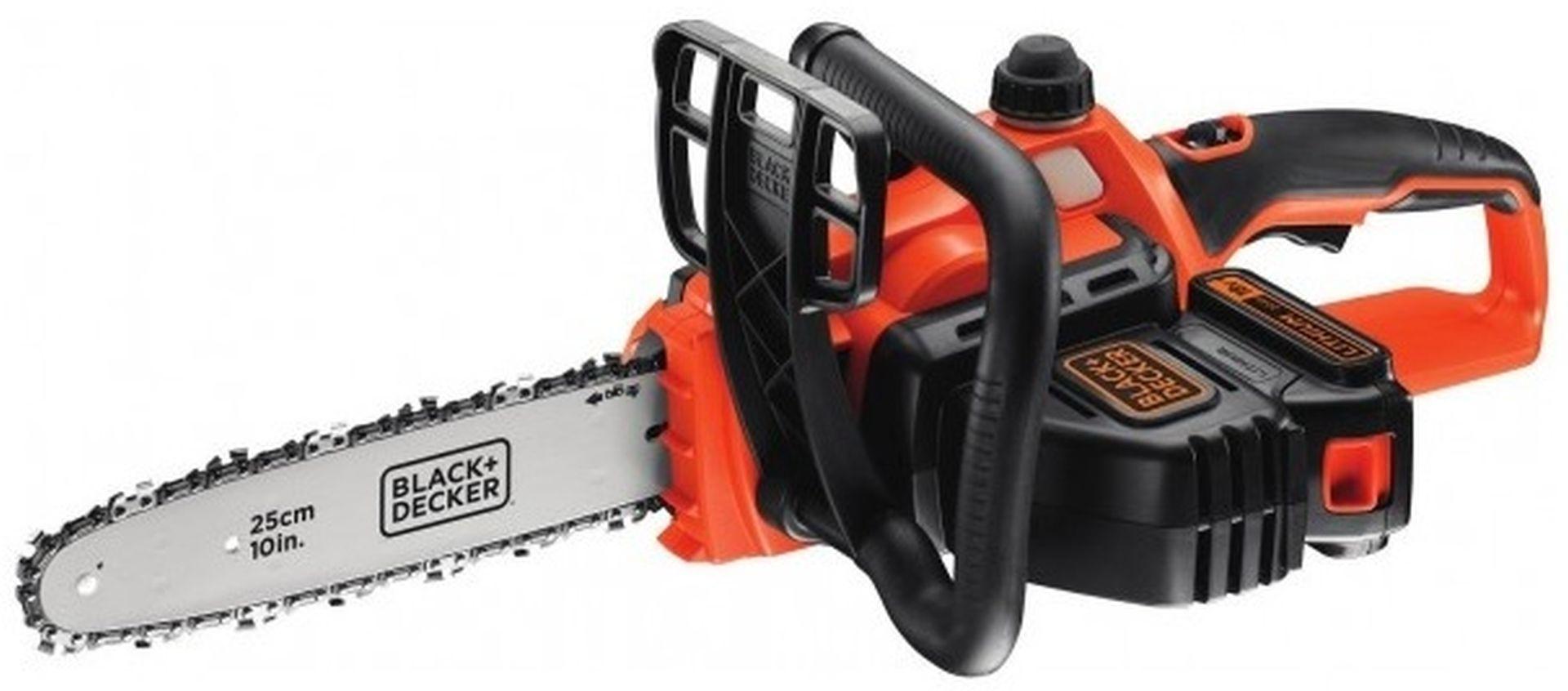 BLACK & DECKER Aku řetězová pila 18V/2,0Ah 25cm GKC1825L20