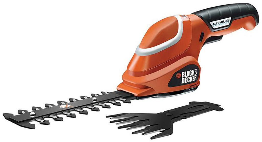 BLACK & DECKER Aku nůžky na trávu GSL700-QW