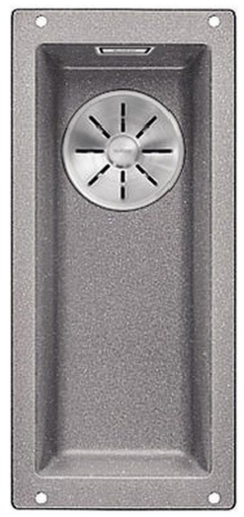 BLANCO SUBLINE 160-U InFino Silgranit aluminium bez táhla 523398