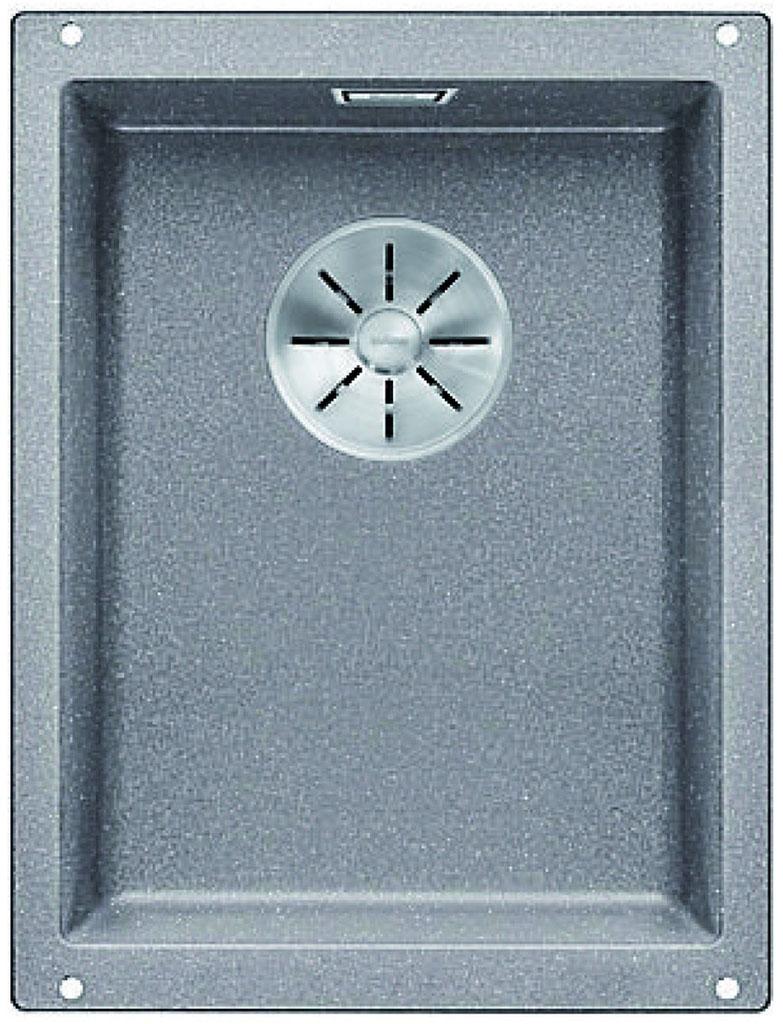 BLANCO SUBLINE 320-U InFino Silgranit aluminium bez táhla 523408