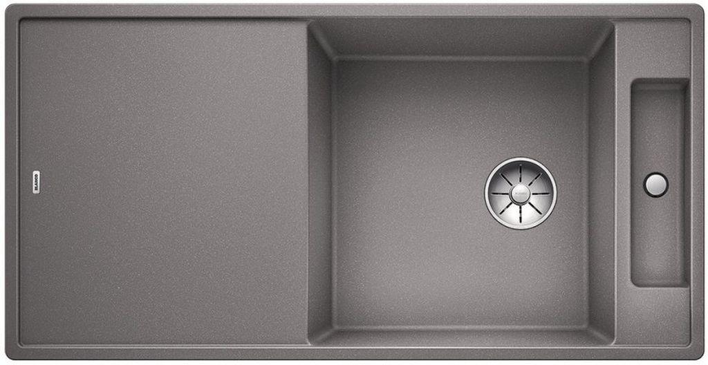 BLANCO AXIA III XL 6 S InFino Silgranit aluminium dřev.deska oboustranný s exc. 523502