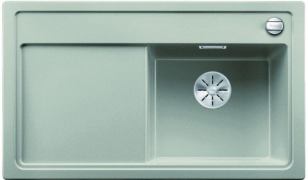 BLANCO ZENAR 45 S InFino Silgranit perlově šedá dřez vpravo s exc. a sklen. deskou 523712