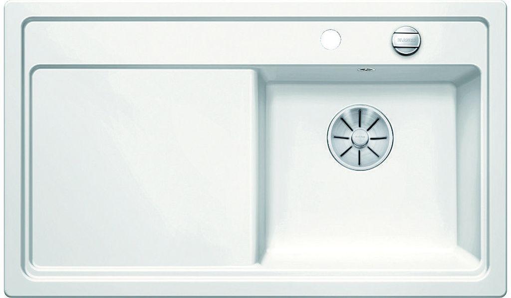 BLANCO ZENAR 45 S InFino Silgranit bílá dřez vpravo s exc. a sklen. deskou 523713