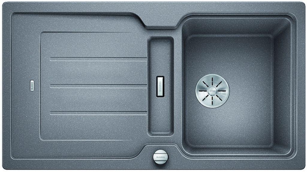 BLANCO CLASSIC Neo 5 S InFino Silgranit aluminium obous.prov.s exc.krájecí deska 524017