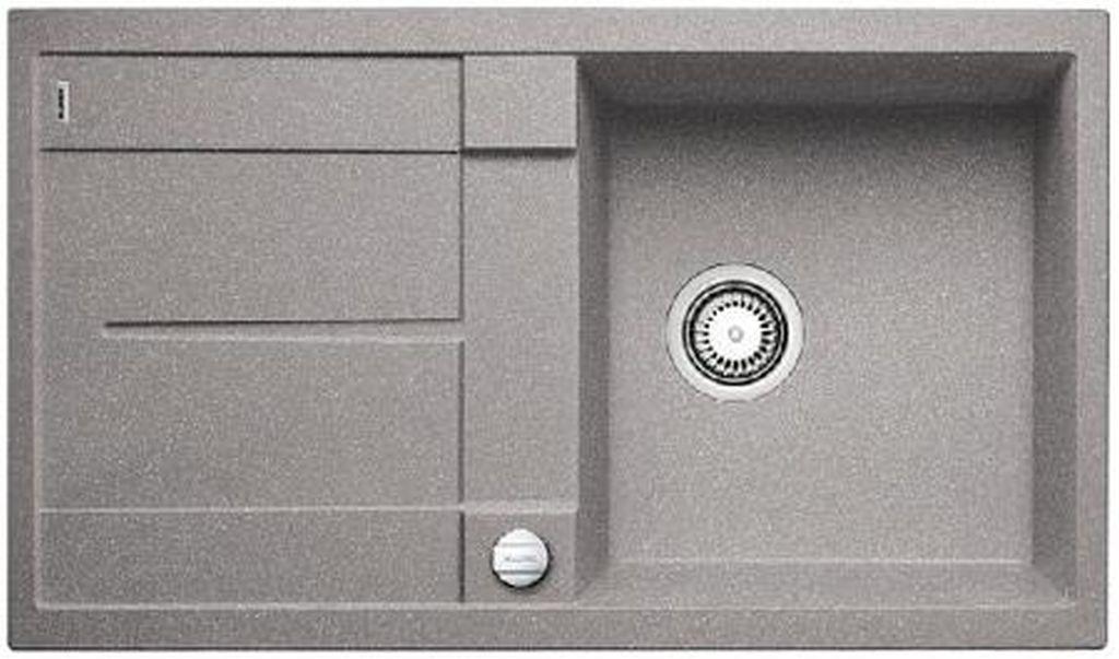 BLANCO Metra 5 S-F dřez Silgranit, aluminium 519098