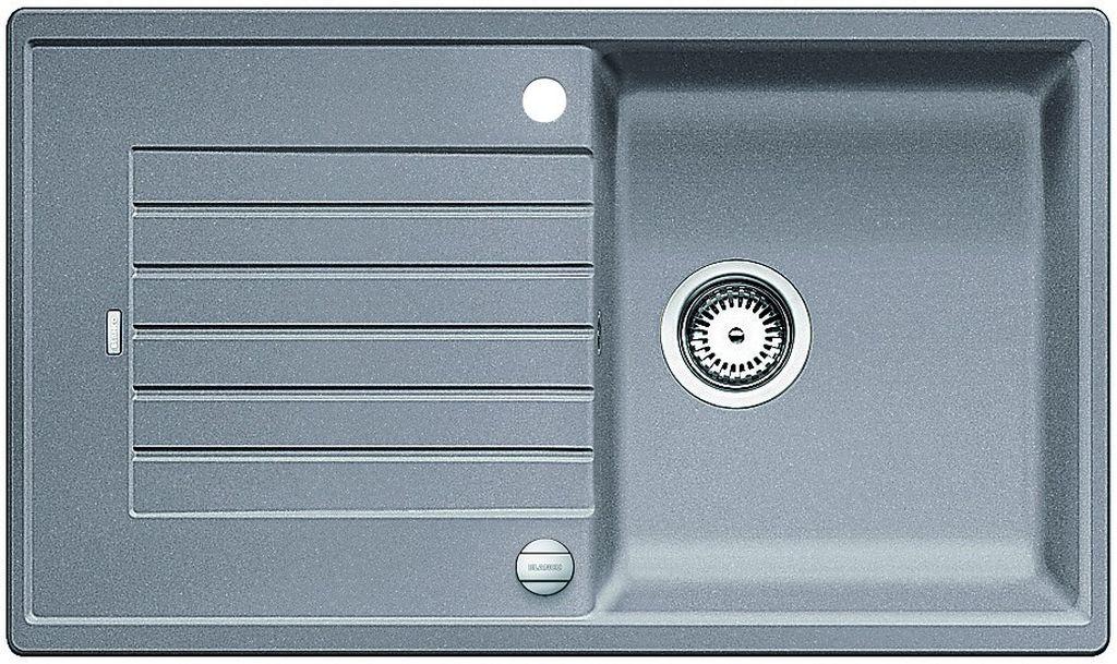 BLANCO Zia 5 S dřez Silgranit s excentrem, aluminium 520504