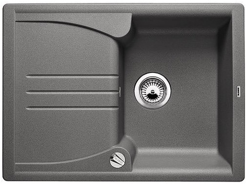 BLANCO Enos 40 S dřez Silgranit, bez excentru, aluminium 513800