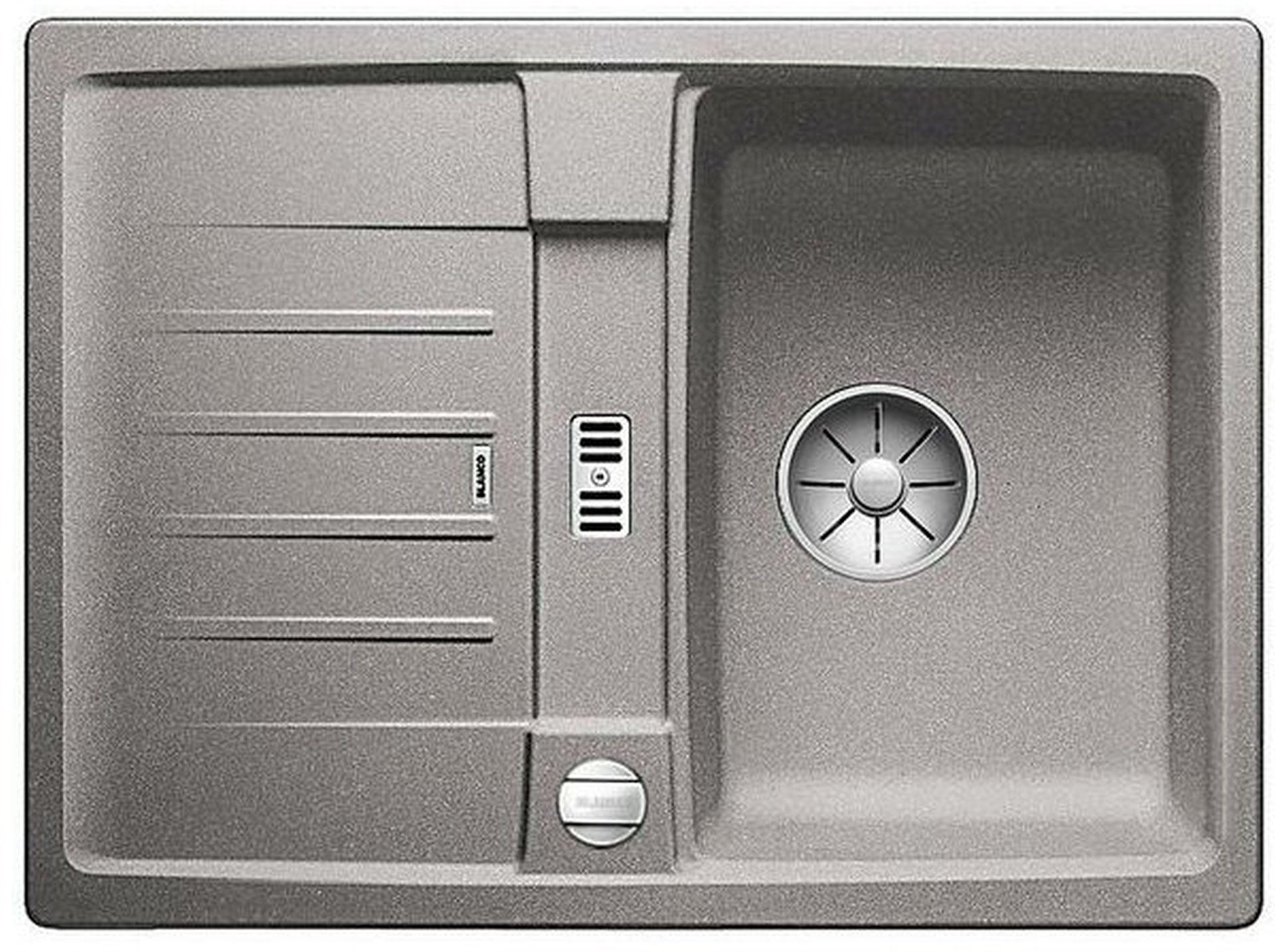 BLANCO Lexa 40 S InFino dřez, s excentrem SILGRANIT, aluminium 524882