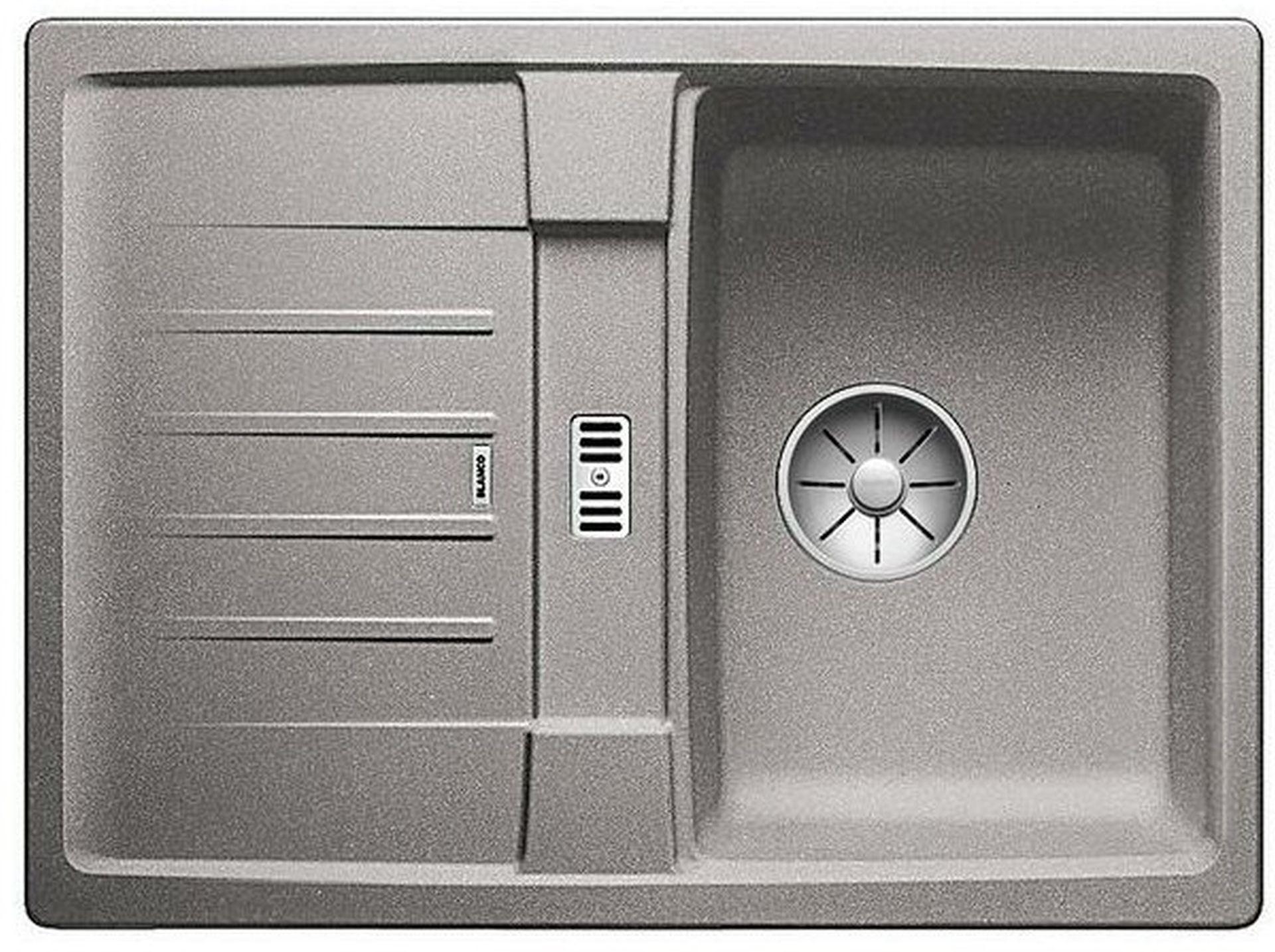 BLANCO Lexa 40 S InFino dřez, bez excentru SILGRANIT, aluminium 524892