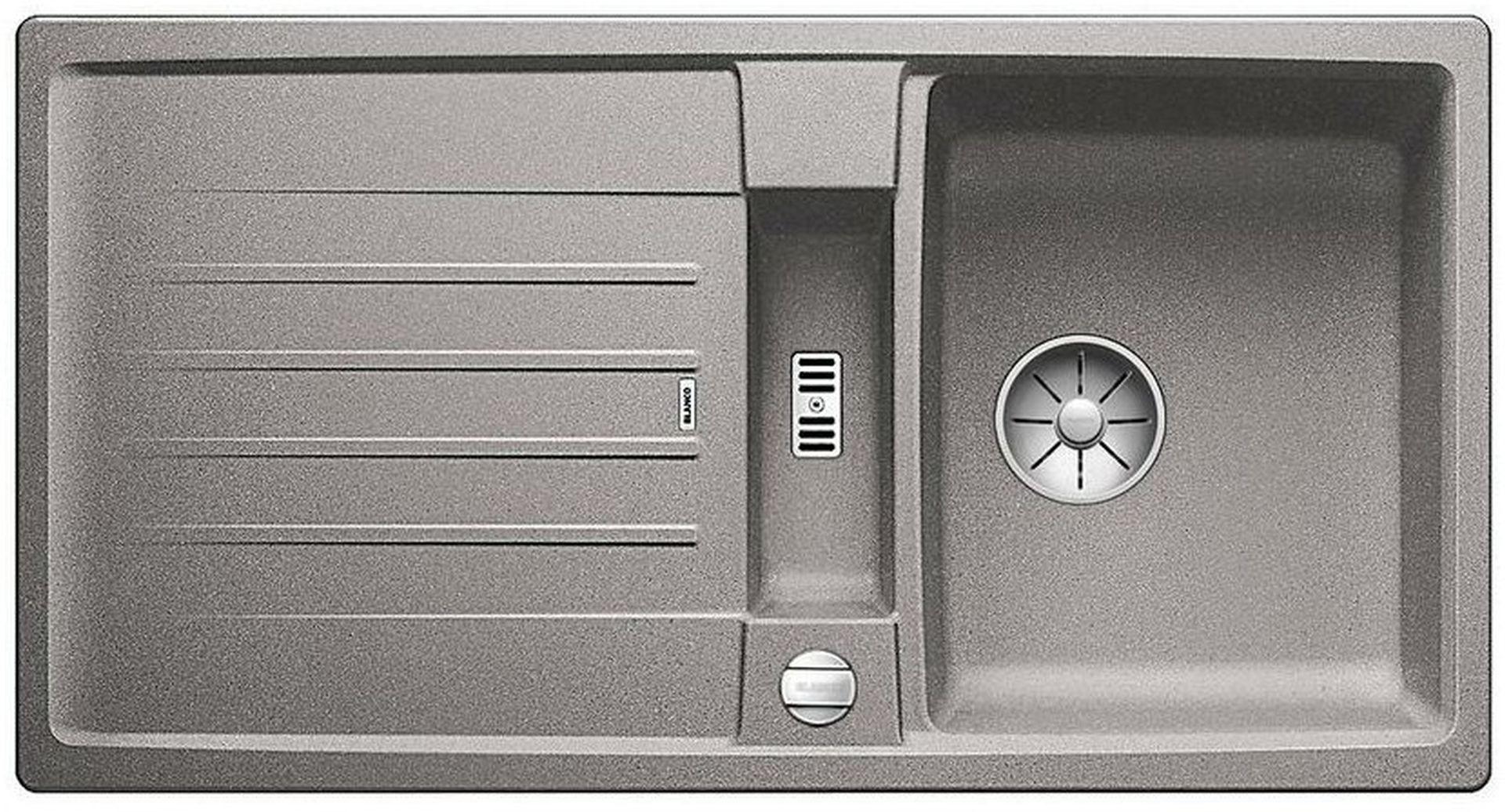 BLANCO Lexa 5 S InFino dřez, s excentrem SILGRANIT, aluminium 524922