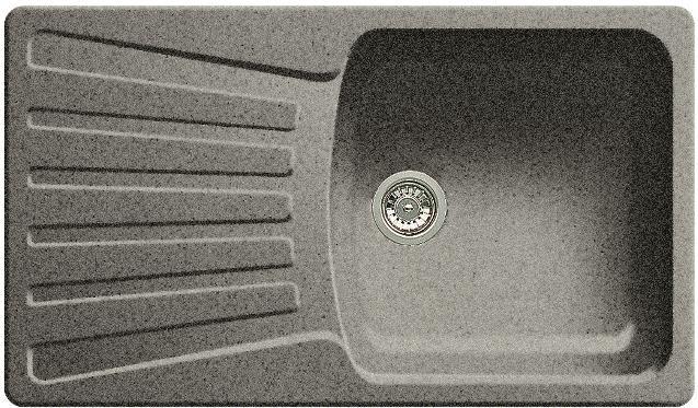 BLANCO Nova 5 S dřez Silgranit, aluminium 511697