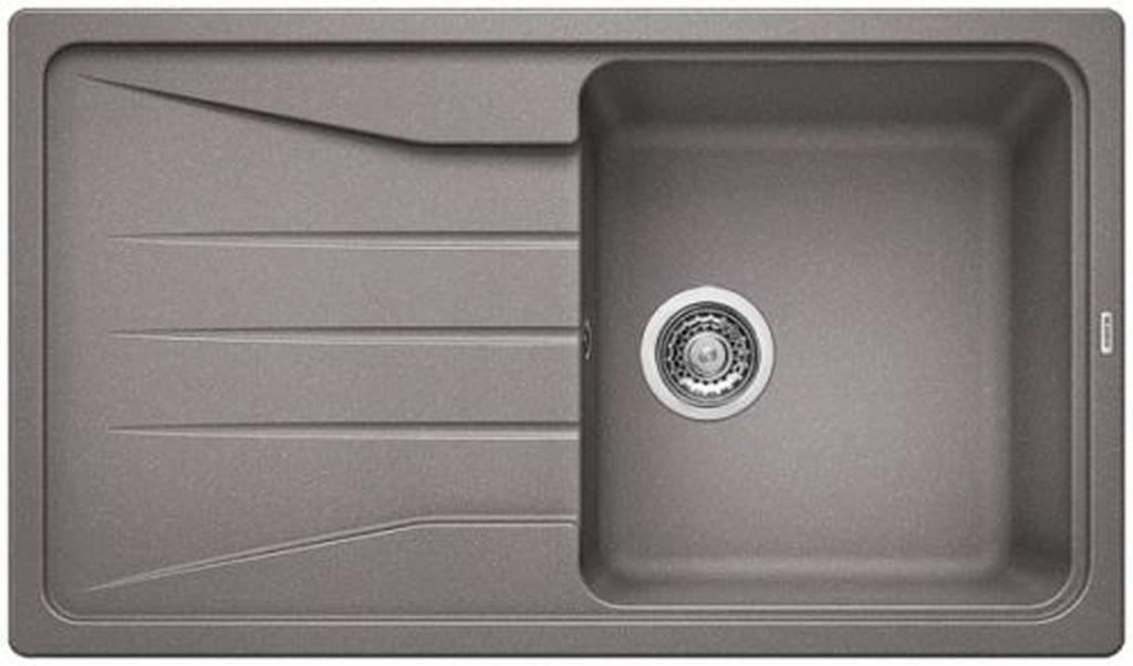 BLANCO Sona 5 S dřez Silgranit bez excentru, aluminium 519673