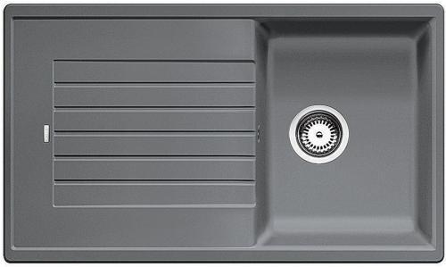 BLANCO Zia 45 SL dřez Silgranit aluminium 516739