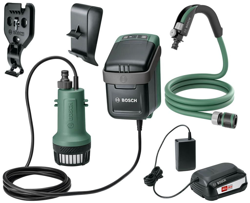 BOSCH GardenPump 18 Akumulátorová čerpadla na dešťovou vodu 06008C4200