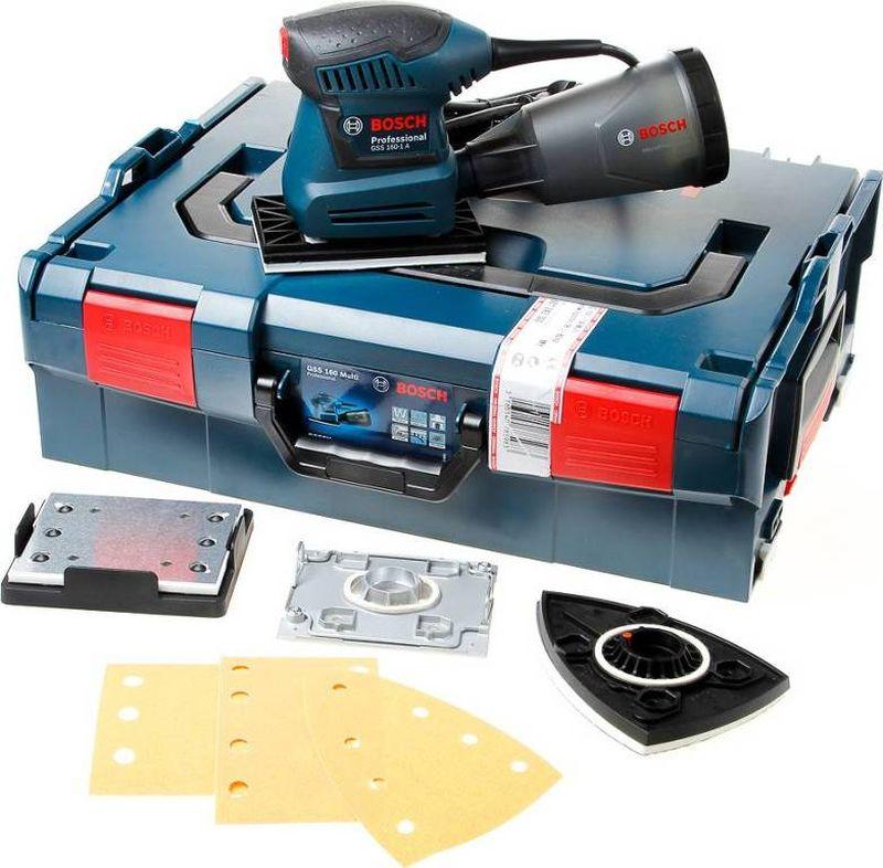 BOSCH GSS 160 Multi Vibrační bruska, L-Boxx, 06012A2300