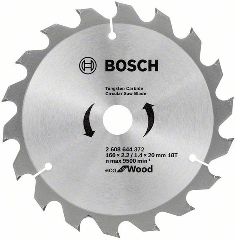 BOSCH Pilový kotouč Eco for Wood, 160x1,4 mm 2608644372