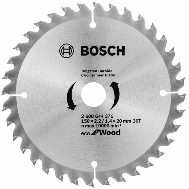 BOSCH Pilový kotouč Eco for Wood, 150x1,4 mm 2608644371