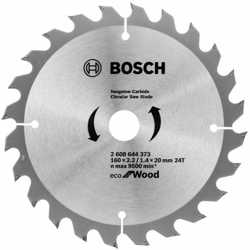 BOSCH Pilový kotouč Eco for Wood, 160x1,4 mm 2608644373
