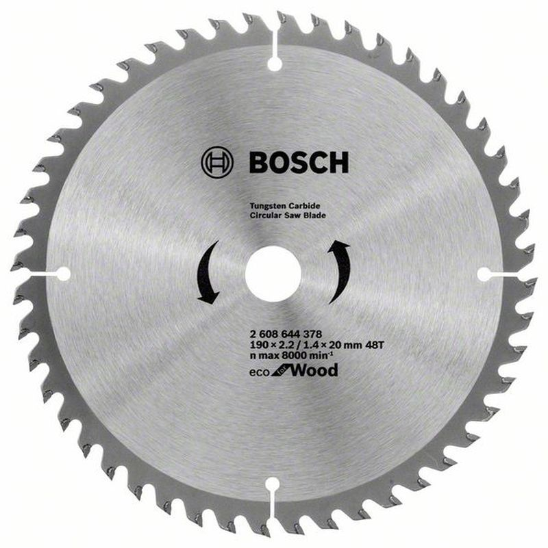 BOSCH Pilový kotouč Eco for Wood, 190x1,4 mm 2608644378