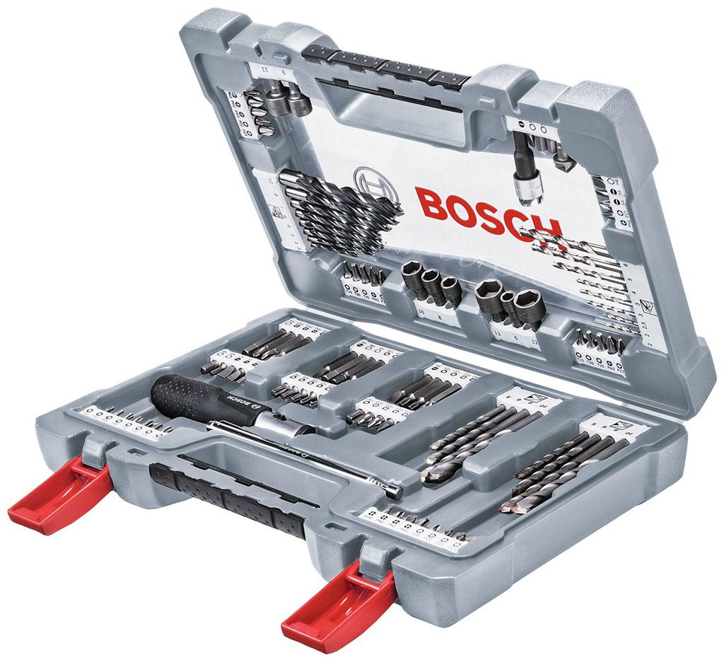 BOSCH X-Line Premium 105dílná sada vrtacích a šroubovacích bitů 2608P00236