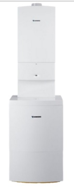 JUNKERS ZSBR 28-3 E + ST 120-2E CerapurComfort sestava kondenzačního kotle a zásobníku