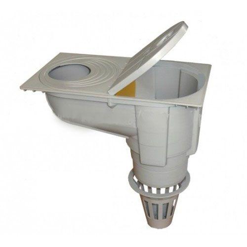 Lapač střešních splavenin - geiger CR100 šedý