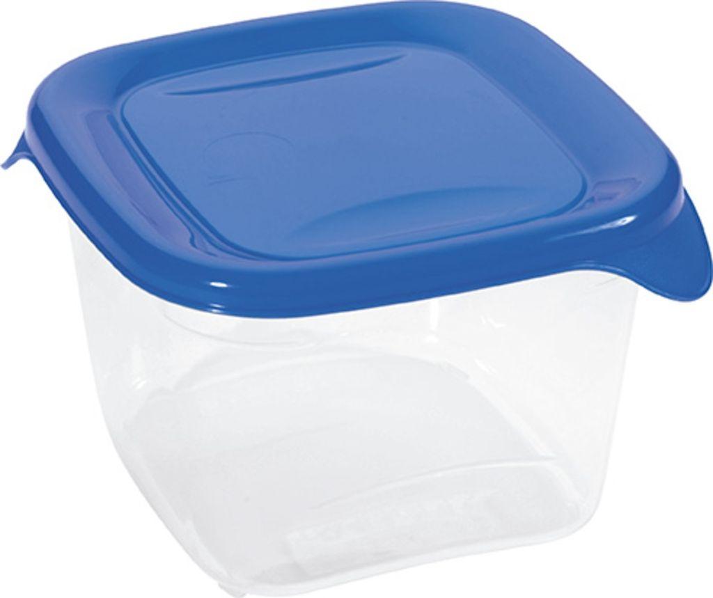 CURVER FRESH & GO dóza potravinová 0,45 l transparentní/tm.modrá 00558-139