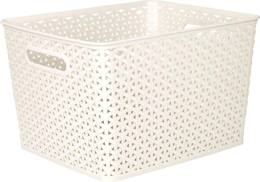 CURVER MY STYLE L 18L úložný box 35x30x22cm krémový 03612-885