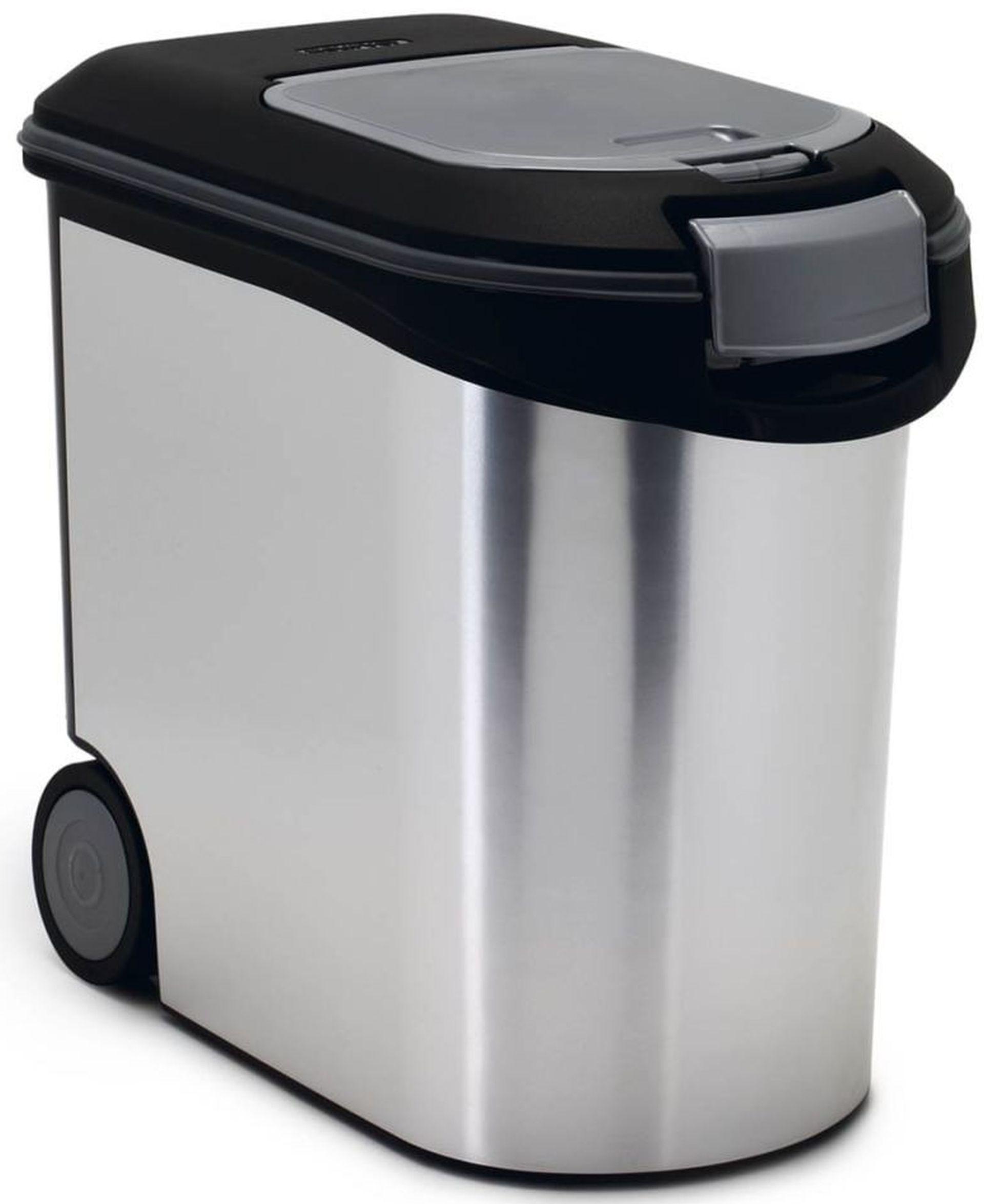 CURVER Kontejner na krmivo 12kg/35L stříbrný 03905-394