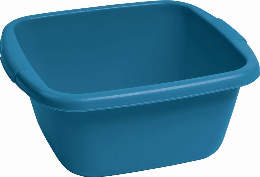 CURVER umyvadlo čtverec 14 l modré 05142-114