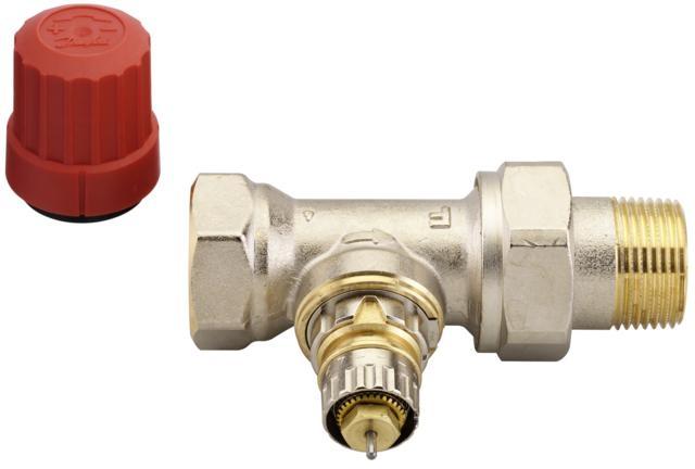 "Danfoss RA-N20 radiátorový ventil 3/4"" přímý 013G0016"