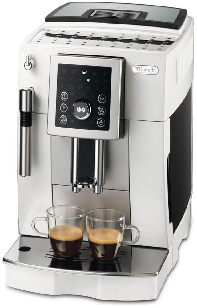 DeLonghi Plnoautomatický kávovar ECAM 23.210.W, bílá 40021471