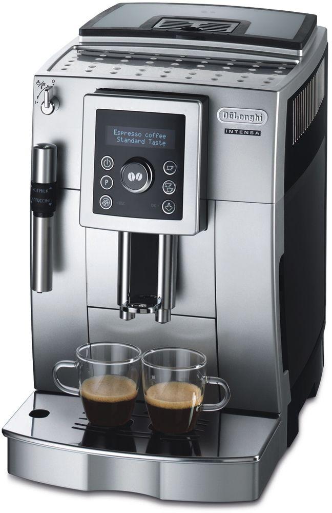 DeLonghi Plnoautomatický kávovar ECAM 23.420.SB, černá/stříbrná 40021472
