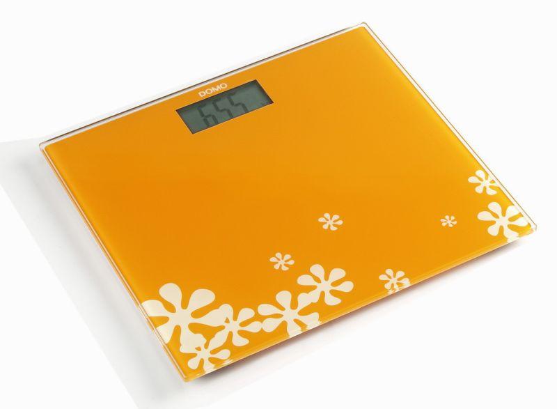 DOMO Osobní váha oranžová DO9100W