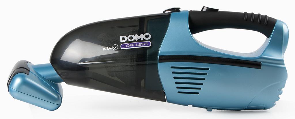 DOMO Ruční aku vysavač s turbohubicí DO211S