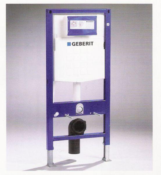 GEBERIT DUOFIX pro závěsné WC, UP 320, pro tělesně postižené, ovládání zepředu 111.350.00.5
