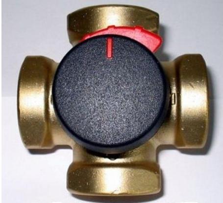 "ESBE VRG 141 směšovací ventil, RP 1 1/4"", DN: 32, KVS: 16 m3/hod 11640500"