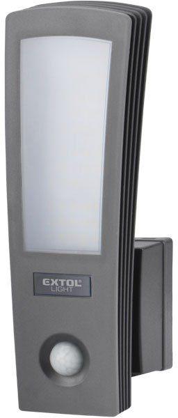 EXTOL LIGHT světlo LED, domovní, s pohybovým čidlem, 700lm 43219