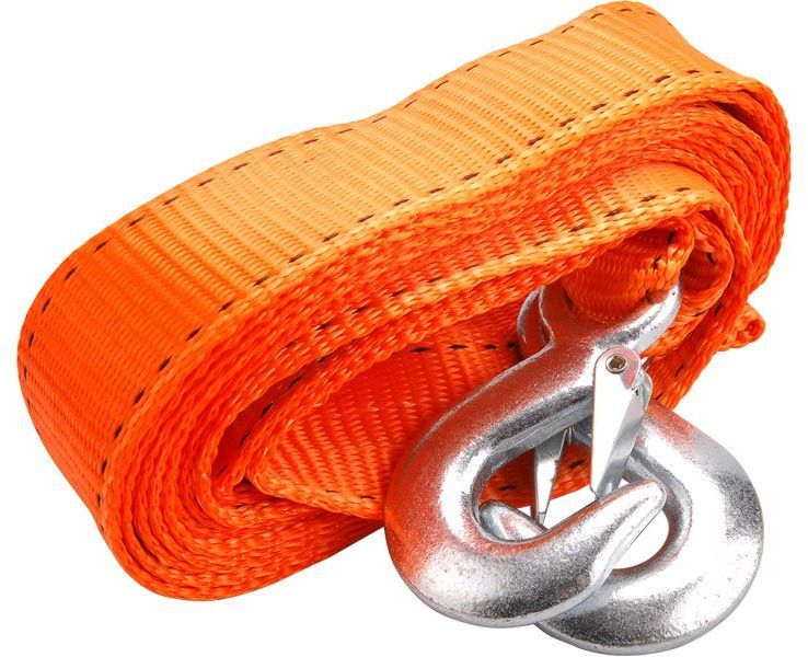 EXTOL CRAFT lano tažné - popruh s háky 4m x 50mm, max. 2800kg 8861160