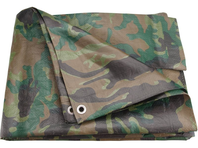 EXTOL CRAFT plachta maskovací PE nepromokavá 10x15m 16110